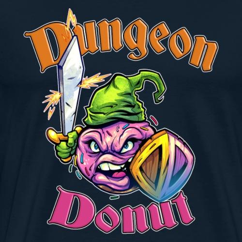Dungeon Donut [Variant] - Men's Premium T-Shirt