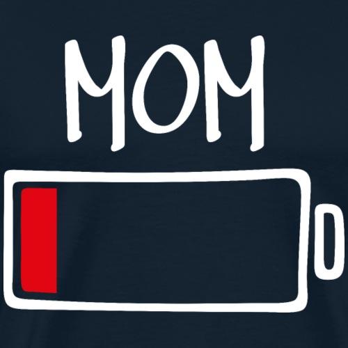 Out of Batteries - Mom (dark) - Men's Premium T-Shirt