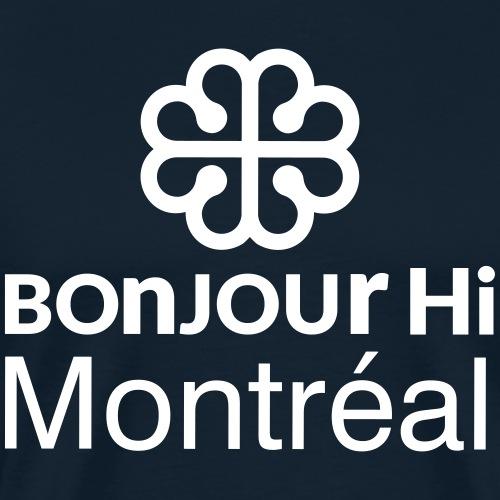 bonjourHi Montréal - Men's Premium T-Shirt