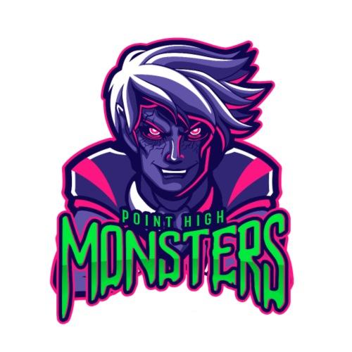 Point High Monsters - Men's Premium T-Shirt