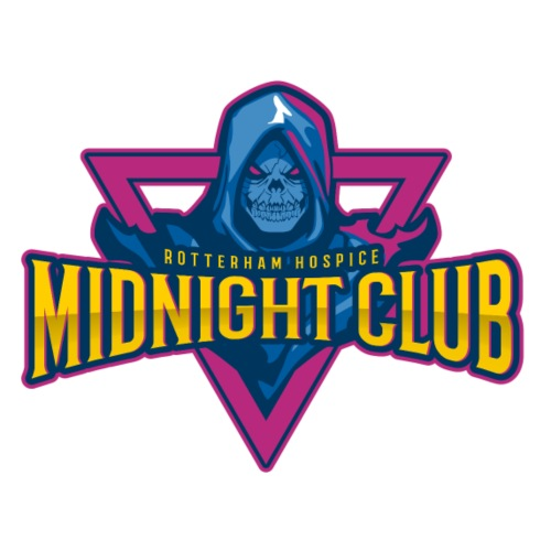 Rotterham Hospice - Midnight Club - Men's Premium T-Shirt