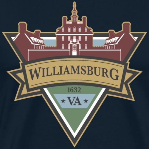 Williamsburg, Virginia, 1632 - Men's Premium T-Shirt