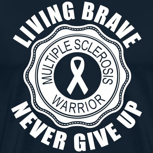 Multiple Sclerosis Warrior - Men's Premium T-Shirt