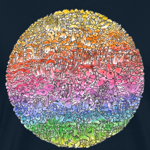 Circle Culture / rainbow - Men's Premium T-Shirt