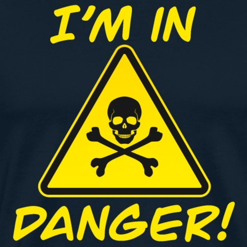 I'm in Danger - Men's Premium T-Shirt