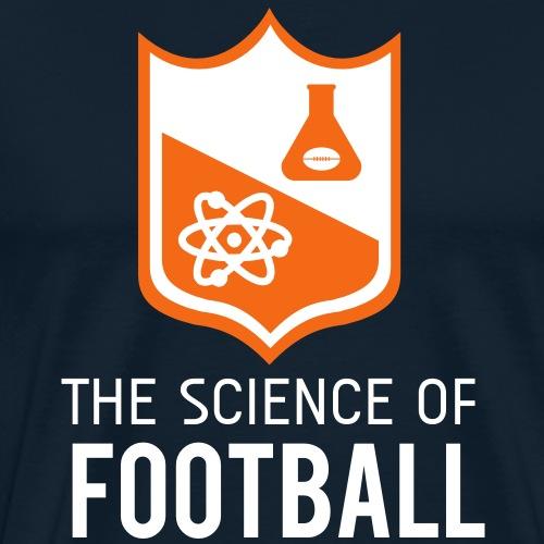 The Science of Football - Men's Premium T-Shirt
