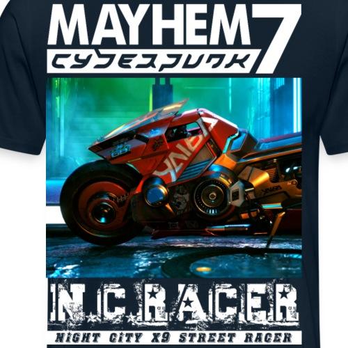 M7 x9 Racer - Men's Premium T-Shirt