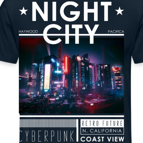 Night City CP2 - Men's Premium T-Shirt