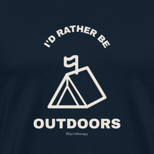 I'd Rather Be... - Men's Premium T-Shirt