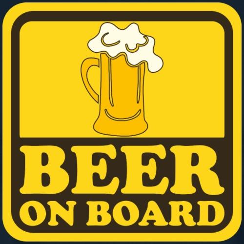 Beer On Board - Men's Premium T-Shirt