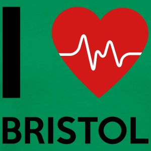 I Love Bristol - Men's Premium T-Shirt