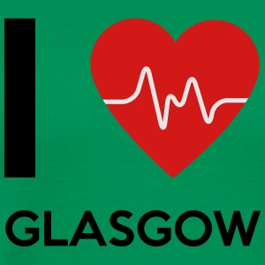 I Love Glasgow - Men's Premium T-Shirt