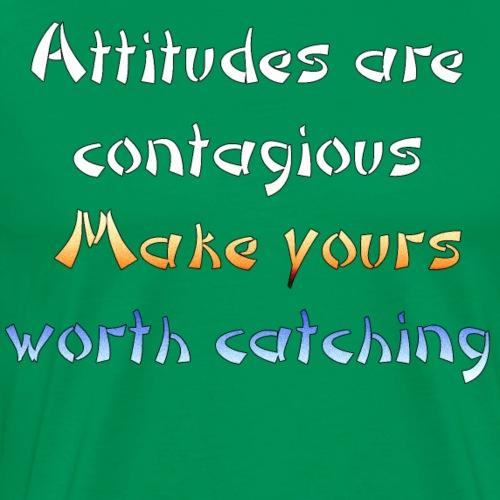 attitude color - Men's Premium T-Shirt