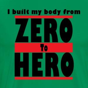 Zero To Hero - Men's Premium T-Shirt