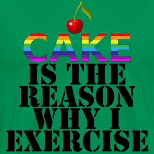 Cake - Men's Premium T-Shirt