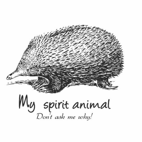 Echidna Spirit Animal - Men's Premium T-Shirt