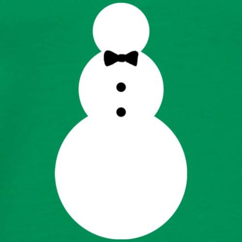Fancy Snowman - Men's Premium T-Shirt