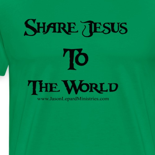 Share Jesus to the world 2 - Men's Premium T-Shirt