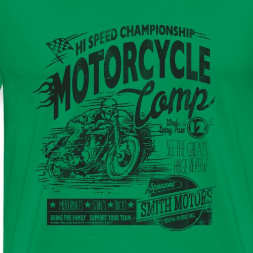 Motorcycle Camp - Men's Premium T-Shirt
