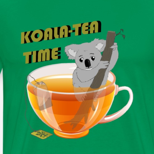 Koala-Tea Time - Men's Premium T-Shirt