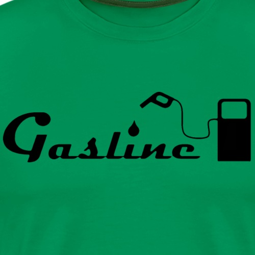 Gasline Pump Classic - Men's Premium T-Shirt