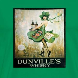 vintage Irish whiskey - Men's Premium T-Shirt