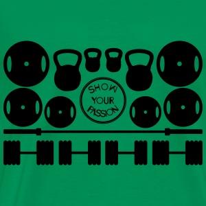 Workout#2 - Men's Premium T-Shirt