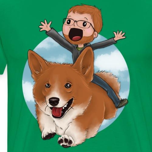 Flying Atticus - Men's Premium T-Shirt