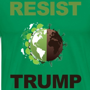 RESISTTRUMPGREEN - Men's Premium T-Shirt