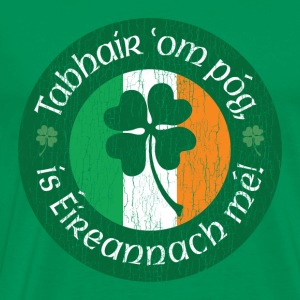 Kiss me I'm Irish! - Men's Premium T-Shirt