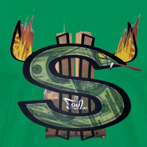 Money is the root of all evil - Men's Premium T-Shirt