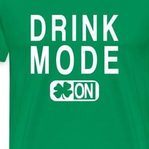 Drink Mode On - Men's Premium T-Shirt