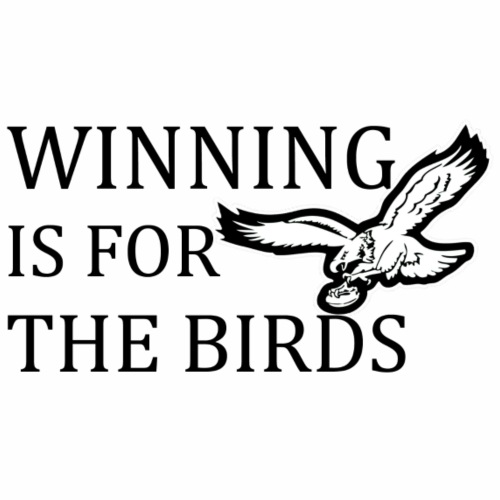 BIRDS Winning - Black - Men's Premium T-Shirt