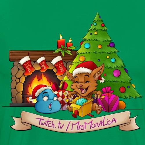 MrsMonaLisa's Holiday Merch! - Men's Premium T-Shirt