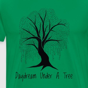 Daydream under a tree - Men's Premium T-Shirt