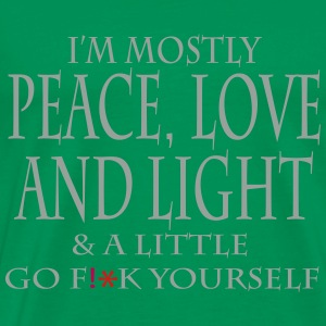 PEACE LOVE LIGHT4 - Men's Premium T-Shirt