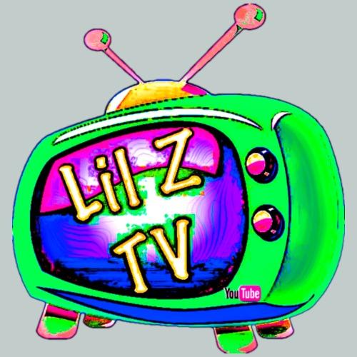 Little Z Hyper Green LILZTV LOGO Design - Men's Premium T-Shirt