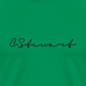 CSTEWART SIGNATURE BLACK - Men's Premium T-Shirt