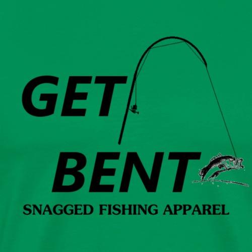 Get Bent - Funny Fishing Logo - Men's Premium T-Shirt