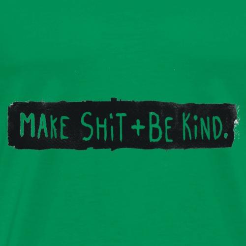 Make Shit Long Black ID - Men's Premium T-Shirt