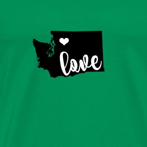 Washington State Love - Men's Premium T-Shirt