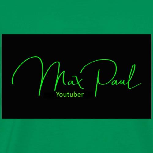 Max Paul Youtuber - Men's Premium T-Shirt