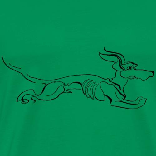 Running Dog - Men's Premium T-Shirt