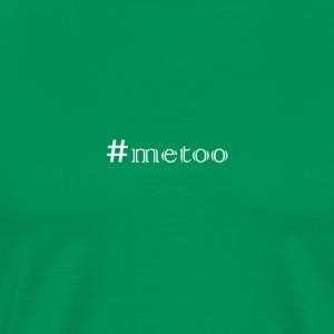 #metoo white - Men's Premium T-Shirt