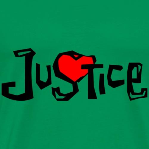 Justice - Men's Premium T-Shirt