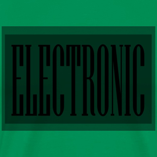 Electronic Logo - Men's Premium T-Shirt