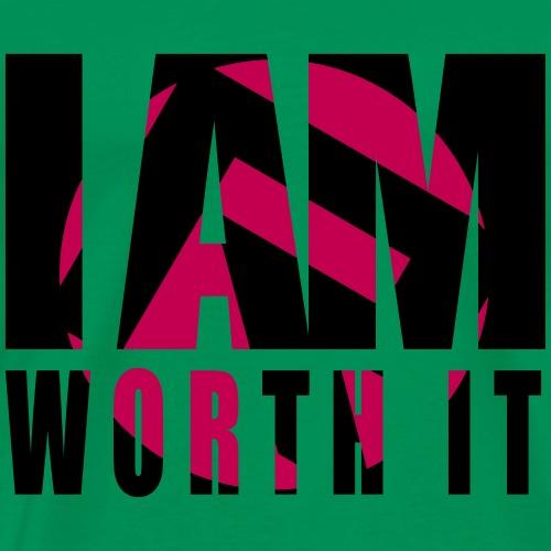 i am worth it - Men's Premium T-Shirt