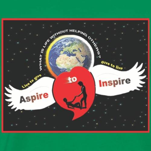 Aspire to Inspire - Men's Premium T-Shirt