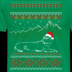 Dachund ugly cristmas - Men's Premium T-Shirt