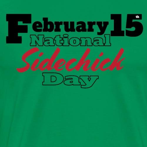 Valentine's Day for Sidechicks - Men's Premium T-Shirt